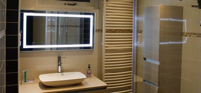 фото ванной на зеркала для